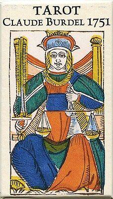 NEW Tarot Claude Burdel 1751 Marseille Cards Deck Limited Edition