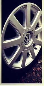 VW RS4 TT alloy wheels and tires