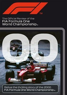 FORMULA ONE 2000 - F1 Season Review MICHAEL SCHUMACHER Grand Prix 1 Reg Free DVD