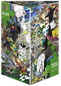 EBOY RIO 1500 PUZZLE POSTER HEYE 2013 COMME NEUF