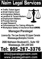 Small Claim Courts, Legal Services, Paralegal