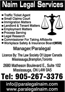 Human Rights Issues, Legal Services, Paralegal