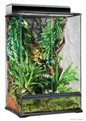 "Exo Terra Reptile Glass Natural Medium X-Tall Terrarium 24""x 18""x 36"""