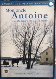 MON ONCLE ANTOINE. DVD. Jutra, Duceppe, Québec. +++RARE+++