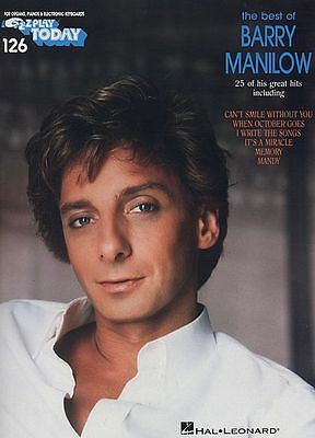 BEST OF BARRY MANILOW EASY PIANO MUSIC SONG BOOK