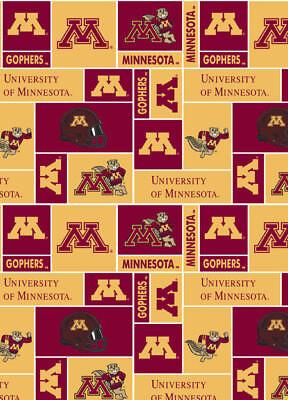 University of Minnesota Fleece Throw Blanket-Minnesota Gophers Lap Blanket