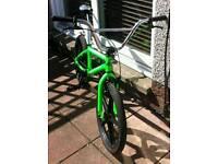 """Haro zx20 dayglow green 20"""" BMX"""