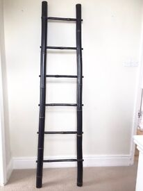 LARGE BAMBOO LADDER TOWEL/CLOTHES/DISPLAY RAIL