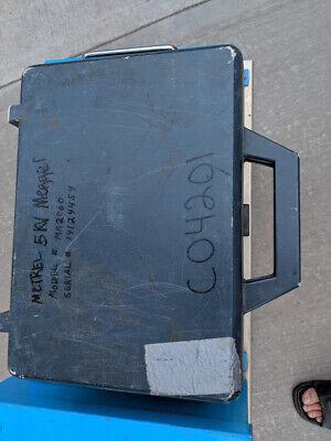 Metrel Ma206 Greenlee 5990 5kv Megohmmeter Insulation Tester