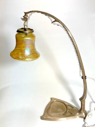 Art Nouveau Secessionist Table Lamp