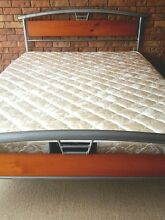Queen bed and almost new mattress, delivery available Brisbane City Brisbane North West Preview