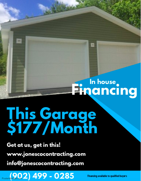 Garage package other city of halifax kijiji for Garage packages nova scotia