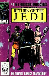 Return of the Jedi - Star Wars comics - 1-4, Marvel, 1983