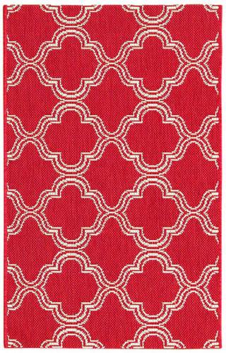 Stunning Trellis Geometric 2x3 Belgium Oriental Indoor / Out