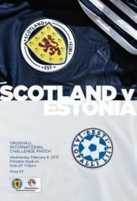 * 2013 - SCOTLAND v ESTONIA (GORDON STRACHAN'S 1st GAME AS MANAGER) *