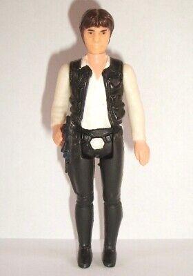 Vintage Star Wars Complete Han Solo Large Head Figure - 1977 - C9 - HONG KONG