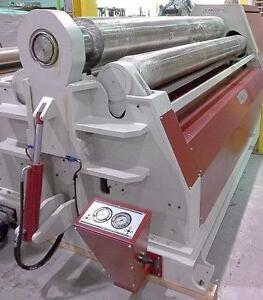 **SPECIAL PRICE!** BRAND NEW AKYAPAK AHS30/13 - 4 ROLLS HYD. PLATE BENDING MACHINE