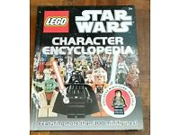 Lego star wars character encyclopedia book with figure