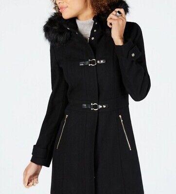 Ivanka Trump Hooded Walker Coat, Size US 16 / UK 12-14, BNWT 63% Wool - RRP £315