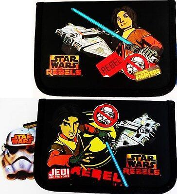 ungefüllte Federmappe Star Wars Rebels  Ezra Federtasche Schüleretui einlagig (Star Wars Rebels Ezra)