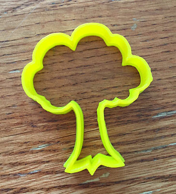 Tree cookie and fondant cutter - US - Tree Cookies
