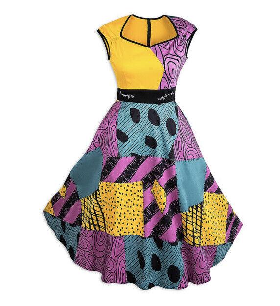 NEW Disney Parks Dress Shop Sally The Nightmare Before Christmas Dress Womens XL