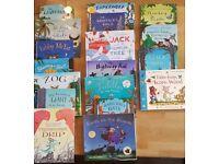 Various Julia Donaldson/Alex Scheffler books