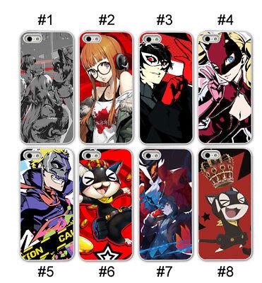 Persona Joker Ann Girl Phone Case iPhone 6 7 8 Plus X SE 5S Soft Black Clear TPU - Joker Girl
