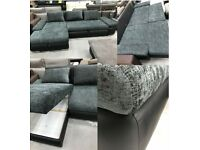 BARGAIN! CORNER SOFAS BEDS! FABRIC! FAUX LEATHER! STORAGE!