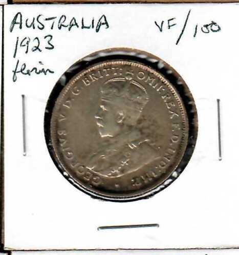 Australia Florin 1923 VF