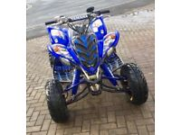 RAPTOR 700R SE ROAD LEGAL TOP SPEC MINT CONDTION 12 MONTHS MOT BARGAIN!! P/X SWAP