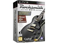 Rocksmith with cable ps3