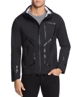 NWT Men's DESCENTE ALLTERRAIN Streamline Active Shell Jacket, X-Large, Black