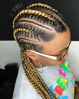 Braids, Weave, Lace Wig install, Crochet,  etc