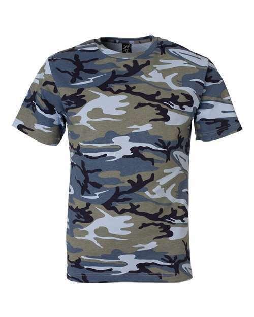 Men's Camo short sleeve T-Shirt 6 patterns Sm To 4x
