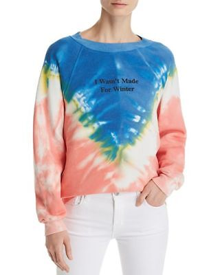 Wildfox couture women's I wasn't made for the winter pullover sweatshirt tie -