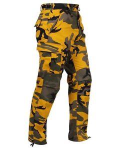 Rothco Yellow Camo Pants