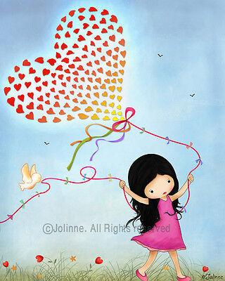 Art for girls room kids wall decor nursery print poster picture artwork baby  - Artwork For Kids