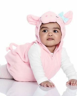 Carters Baby Infant PLUSH Girls PIG 3pc Set Halloween Costume ADORABLE 12 Month - Adorable Baby Girl Halloween Costumes