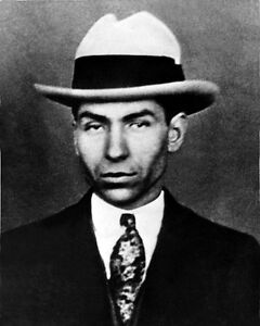 1935 American Gangster Mobster CHARLES LUCKY LUCIANO Glossy 8x10 Photo Poster