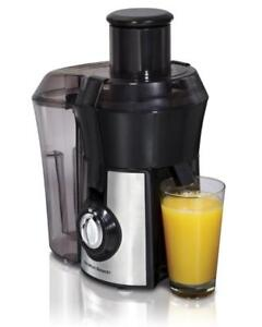 Hamilton Beach Big Mouth Juicer (Stainless Steel)