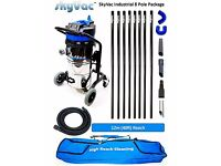 Industrial SkyVac S (Wet & Dry) The Worlds Most Powerful Free Standing Gutter Cleaning Machine