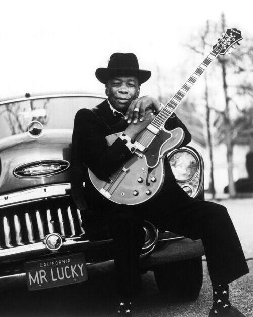 Blues Soul Singer JOHN LEE HOOKER 8x10 Photo Music Guitarist Print Glossy Poster
