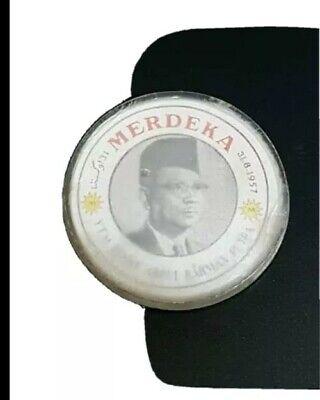 1957 rare merdeka independence badge tungku Portrait