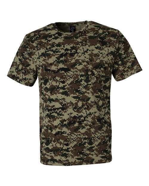Men's Camo short sleeve T-Shirt 6 patterns Sm To 4x 1