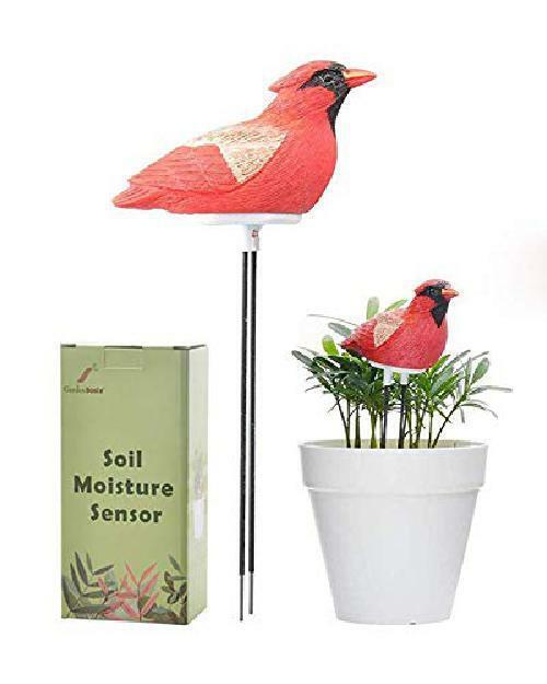 Chirping Bird Bonsai Soil Moisture Meter Plant Watering Alar