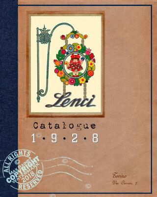 1928 LENCI Sales Sample Catalogue 150+ FELT dolls ITALY TOYS Catalog + Models