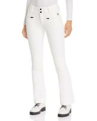 Perfect Moment Womens Aurora Flare Ski Pants XS White