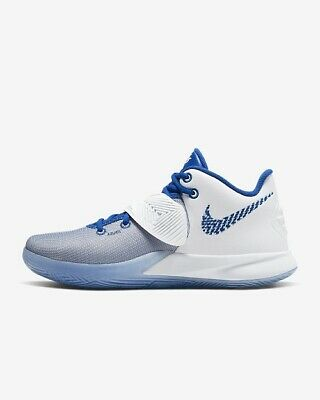 Nike Kyrie Flytrap III 3 Men's Irving White Royal Basketball Sneakers Shoes UK 9