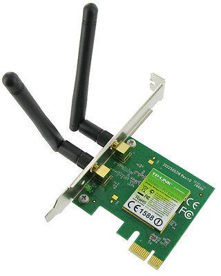 300 Mbit PCIe WLAN Karte Wireless LAN PCI Express MIMO WIFI Adapter